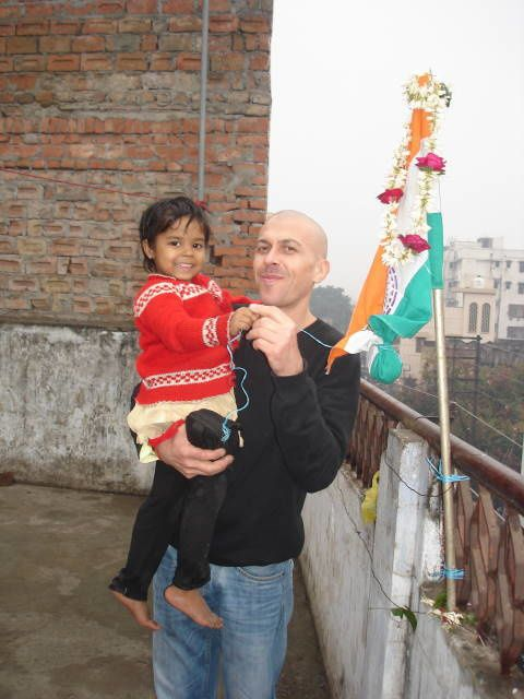 Republic Day : Isneha et Christophe.