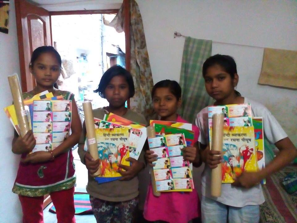 Anjali, Punam, Vandana et Chinki.