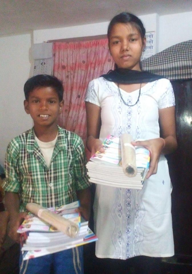 Sahil et Manisha.