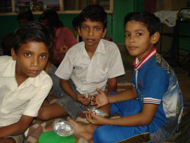 Vashant, Jisant et Rohit.