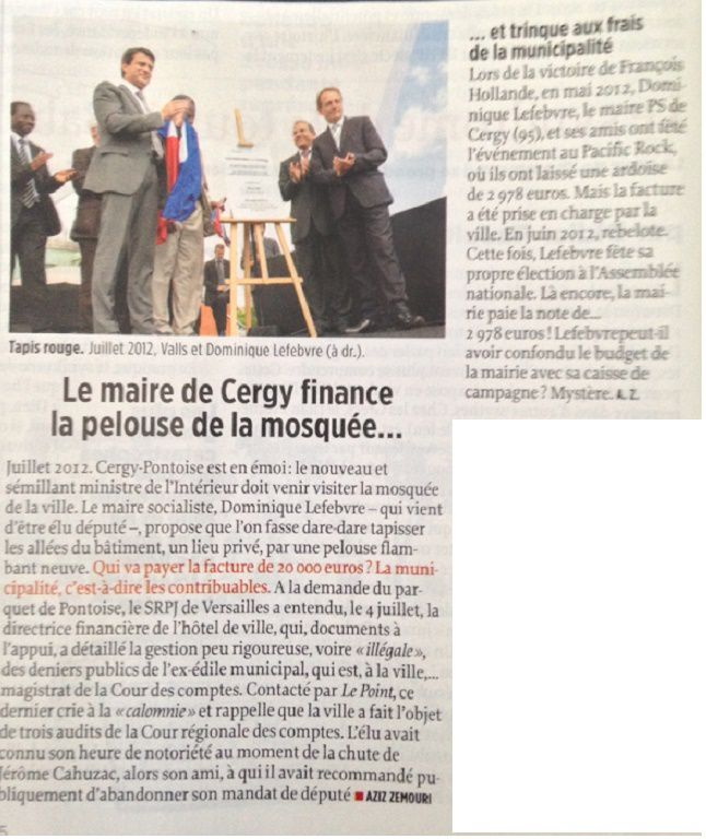 Article du magazine Le Point du 31 juillet 2014 (www.lepoint.fr)