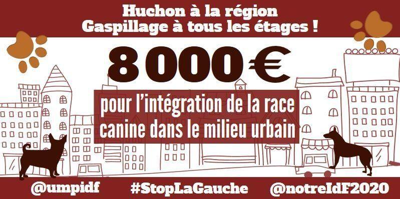 La région Île-de-France ne finance pas seulement n'importe qui, elle finance aussi n'importe quoi !