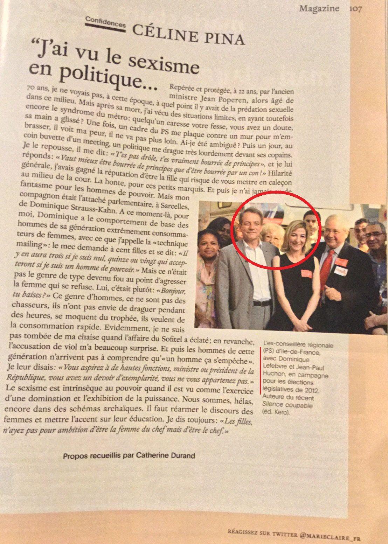 Dominique Lefebvre est-il un sexiste ?