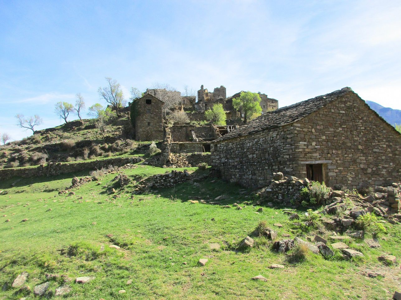 Album 172 - Village abandonné Muro De Bellod Esp