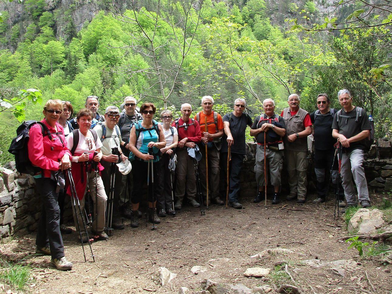 9 mai 2017 - La Riparéta Canyon d'Anisclo (Esp)