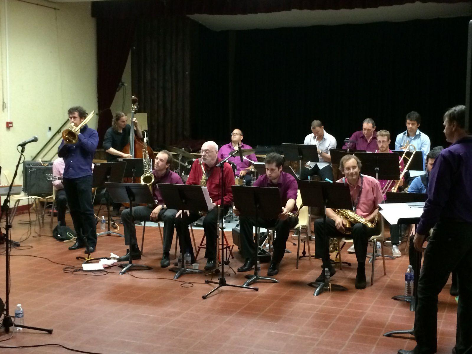 Big Band Tjamid à Avignonet (31), une belle soirée !