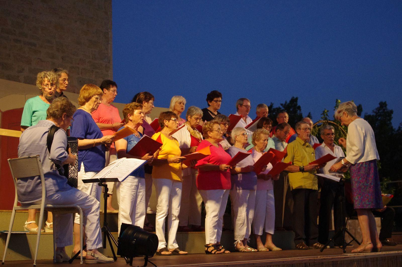 Birolaze et la chorale, été 2014