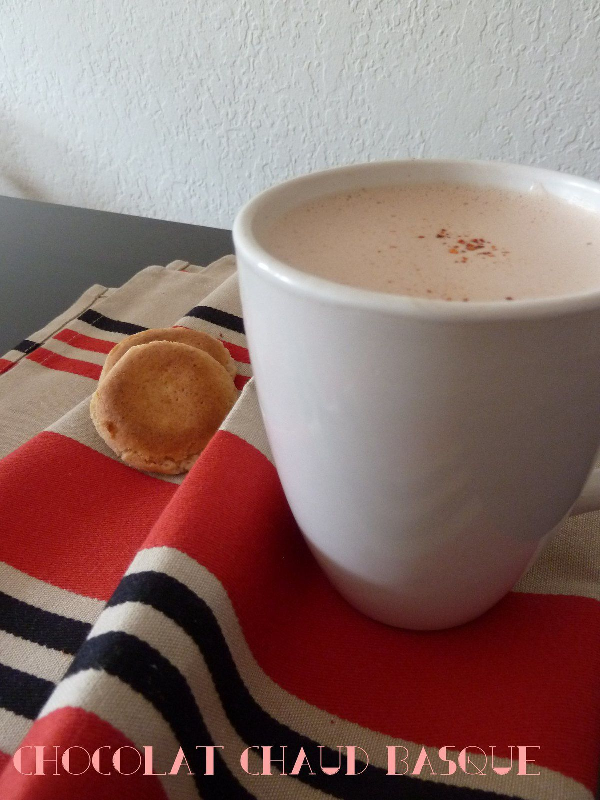Chocolat chaud basque