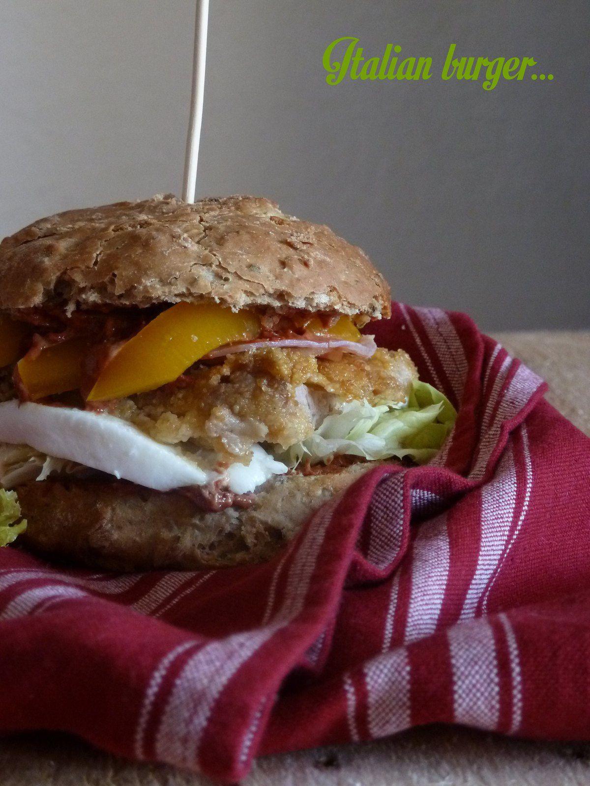 Idées burger: légumes grillés et saveurs d'Italie