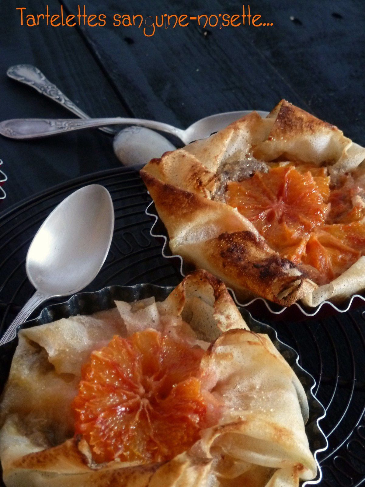 Tartelettes noisettes-oranges {Culino version selon Gut}