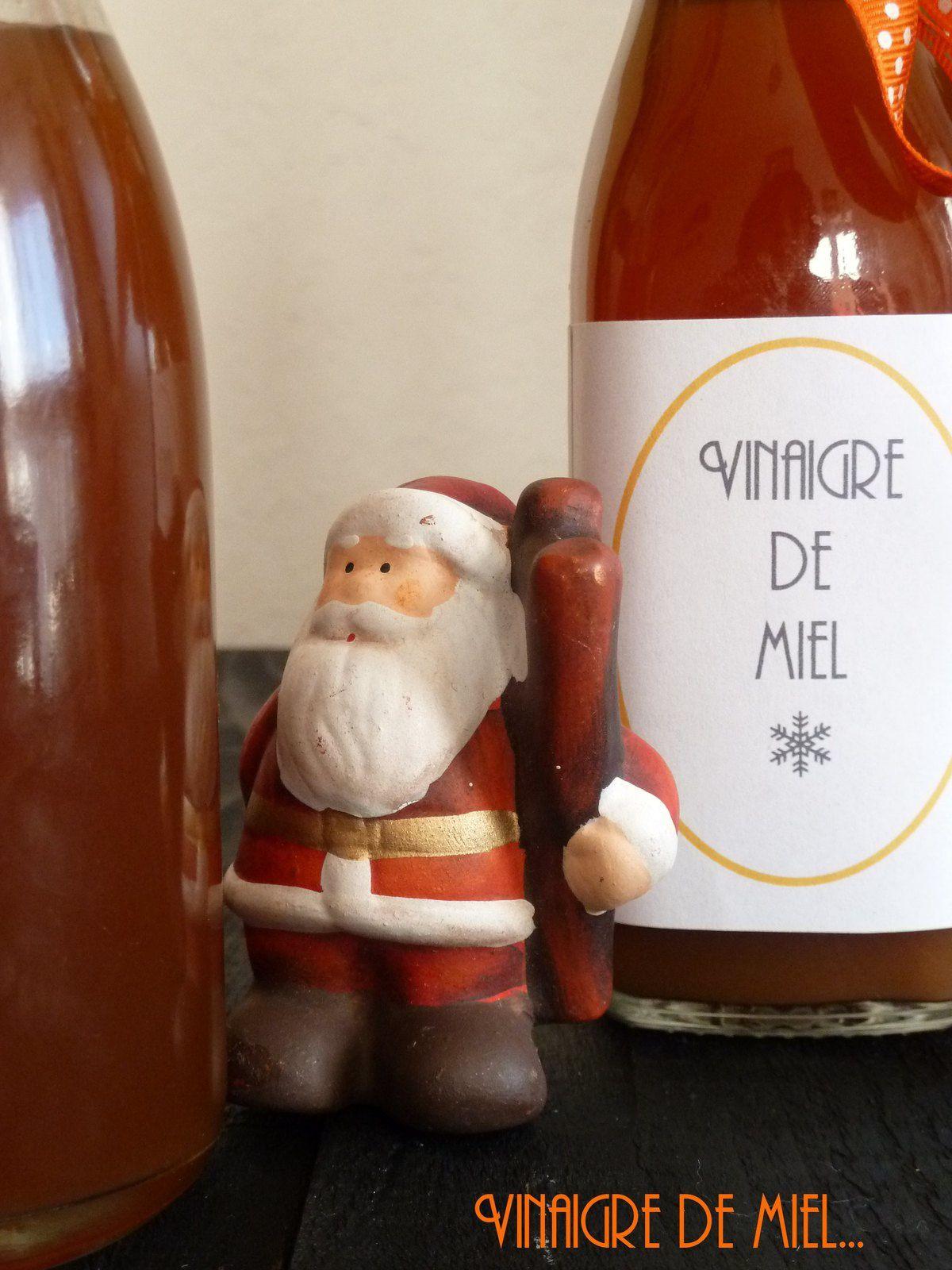 Vinaigre de miel {cadeau gourmand}
