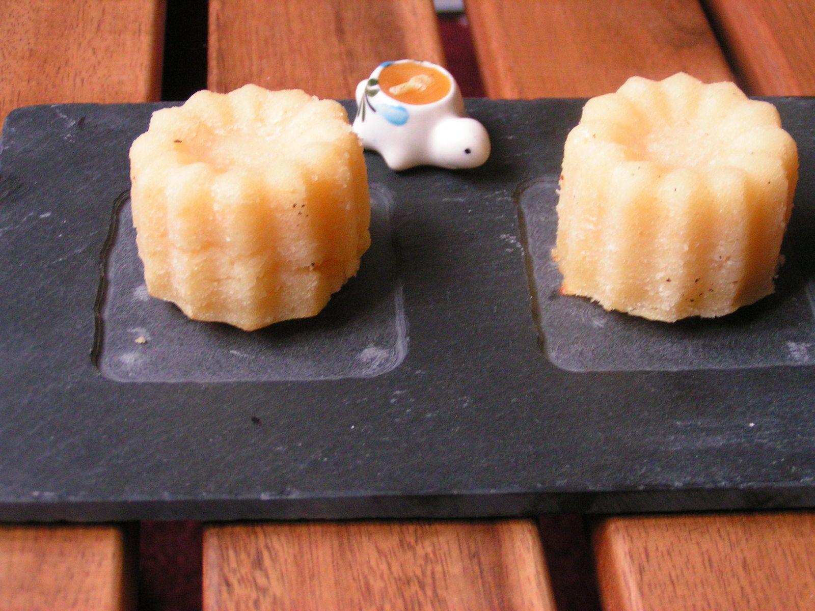 cannelés thé vert citron