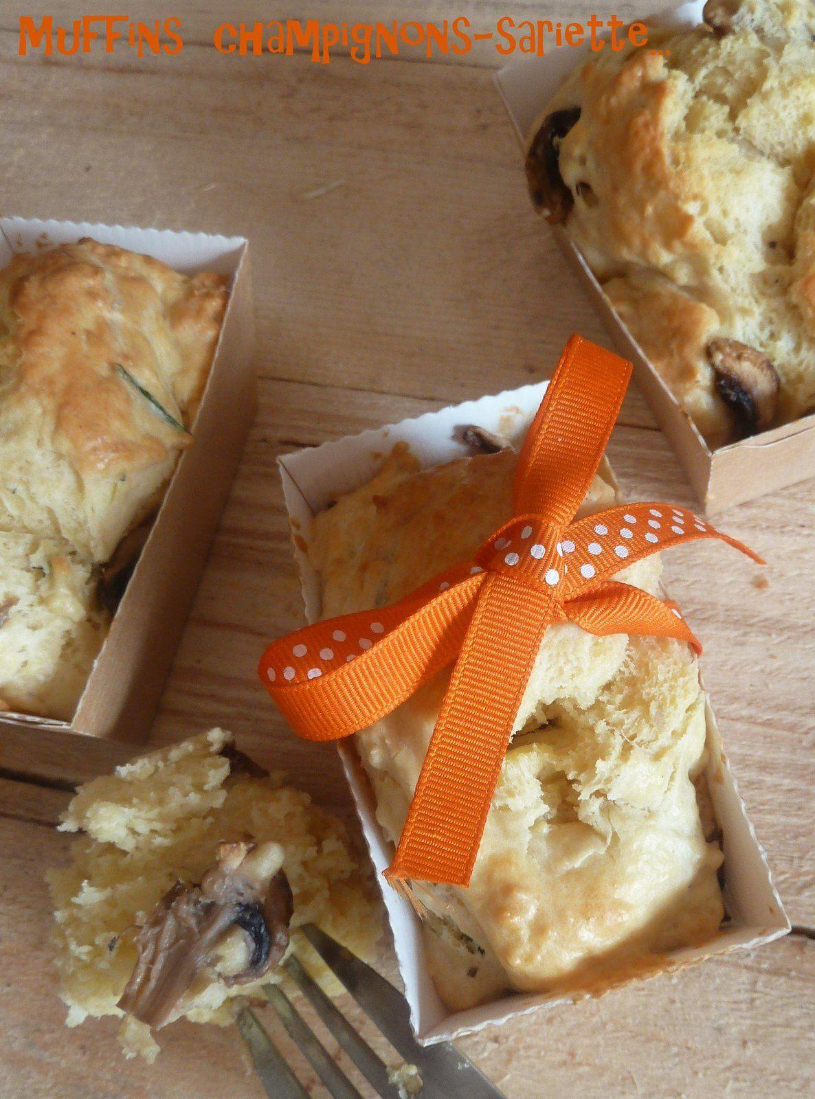 Muffins aux champignons {pour le MM#38}