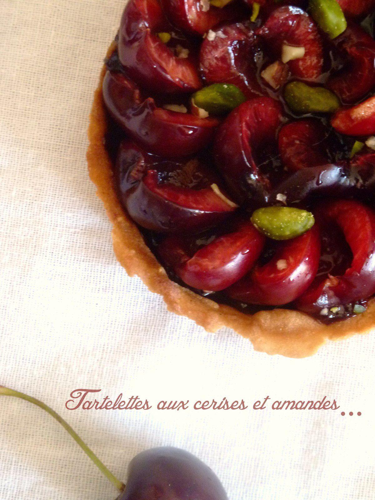 Tartelettes aux cerises et amandes #2
