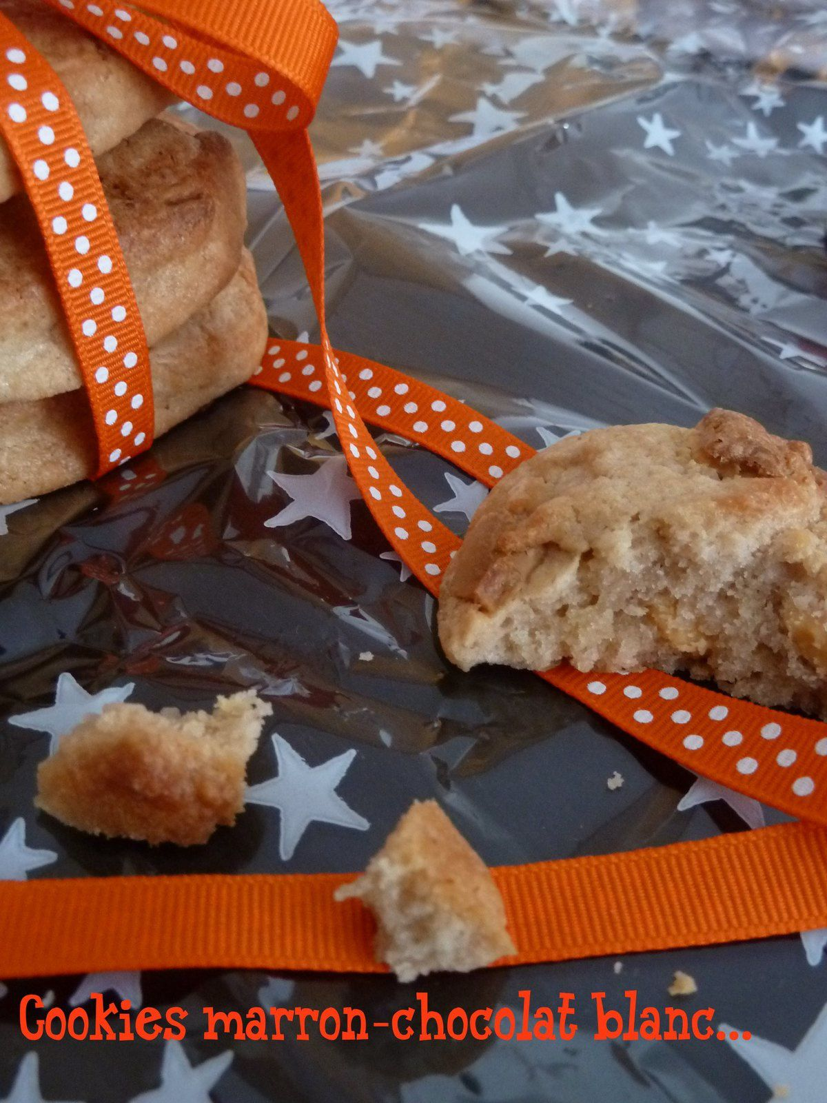 cookies chocolat blanc-crème de marron