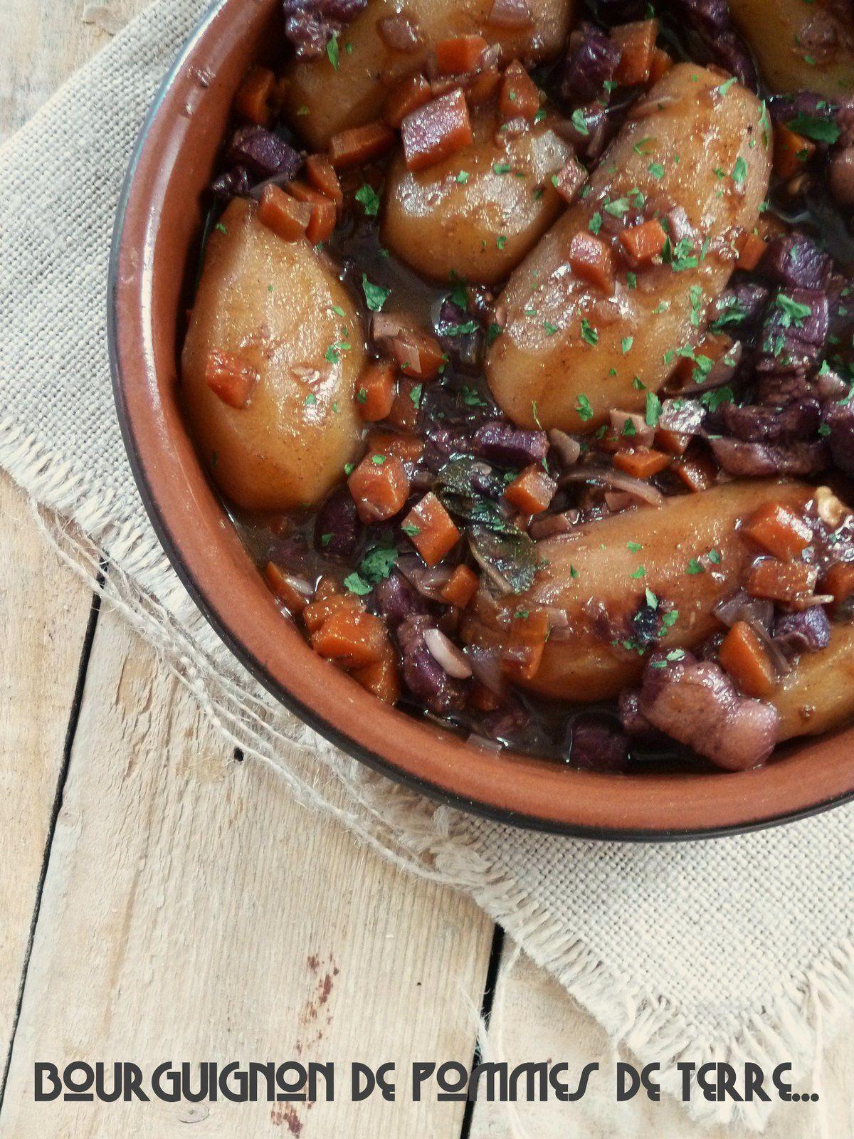 Bourguignon de pommes de terre