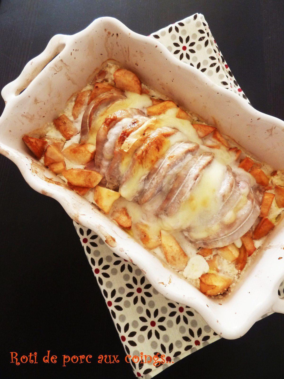 Roti de porc aux coings