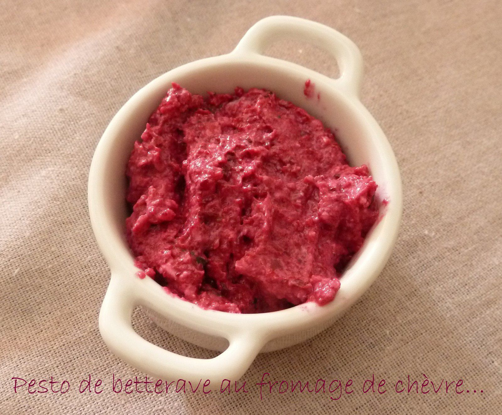 Pesto de betterave