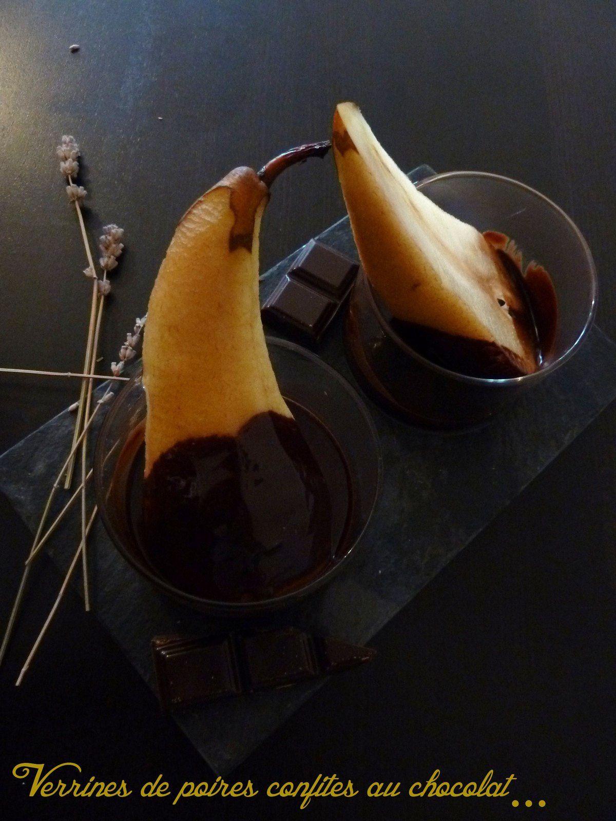 verrine poire chocolat
