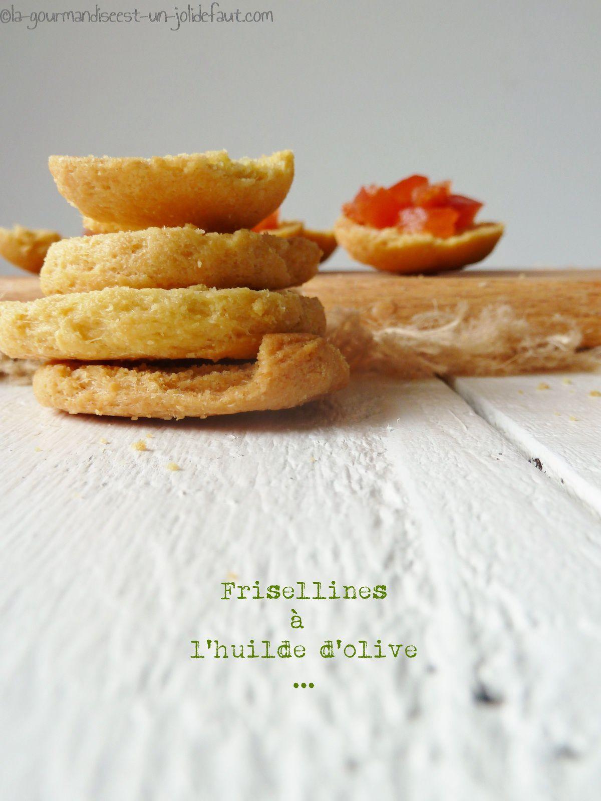 Frisellines à l'huile d'olive