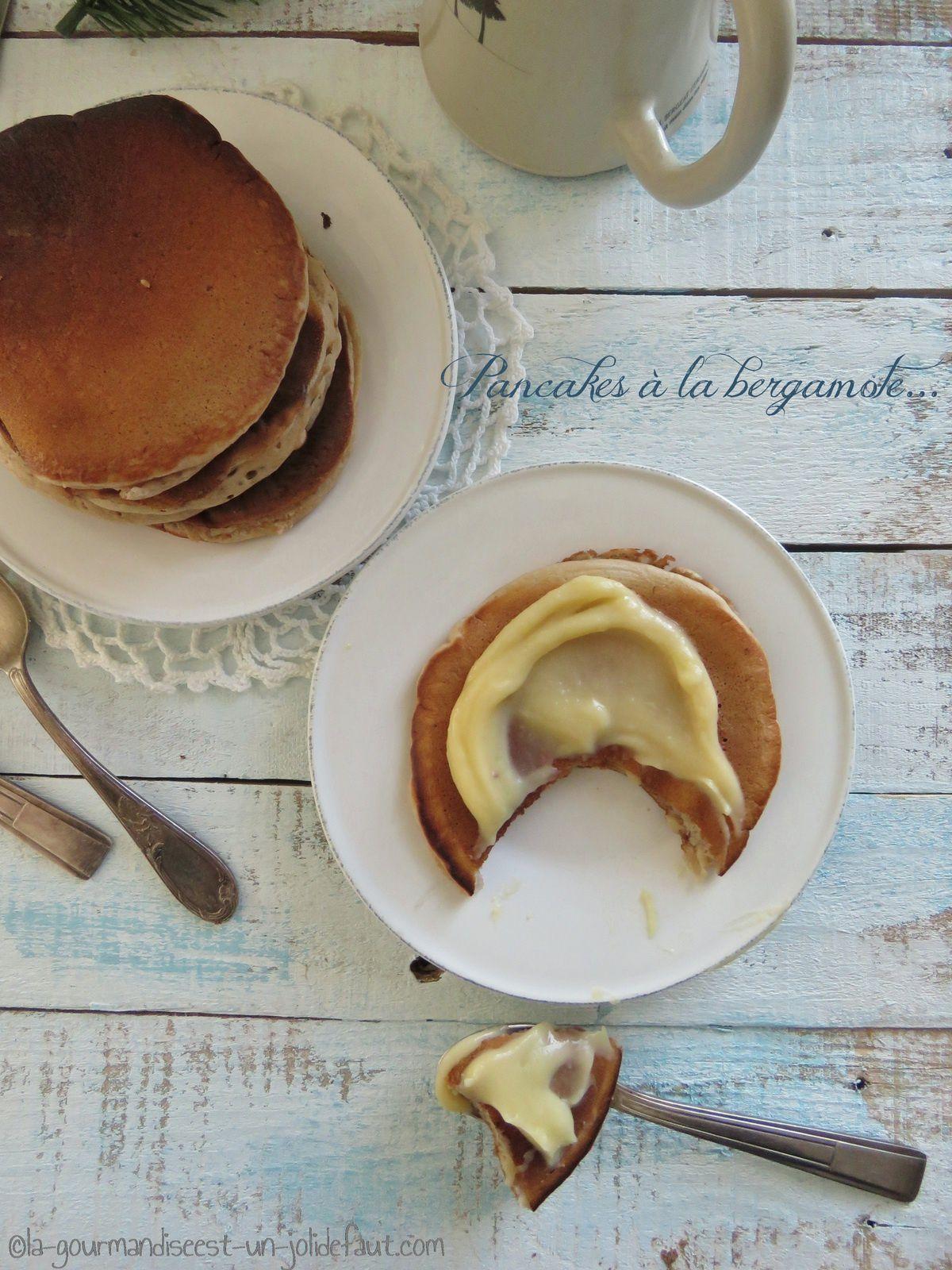 Pancakes à la bergamote