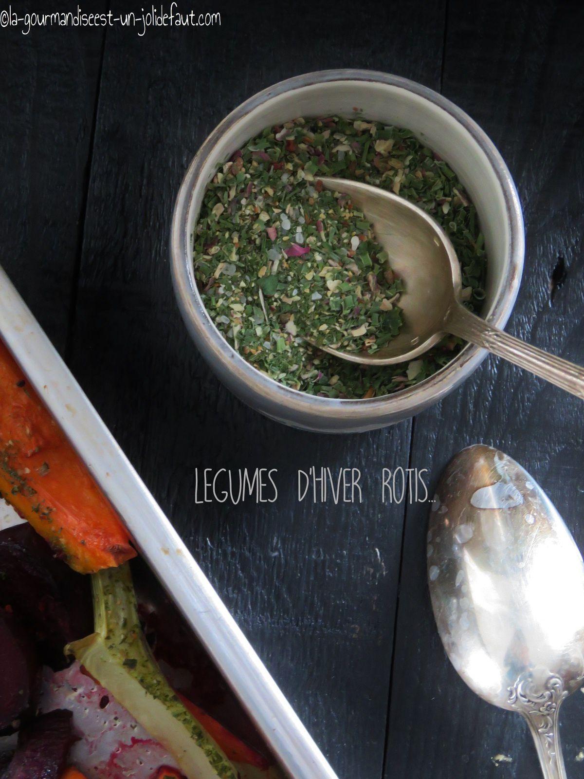 Légumes d'hivers rôtis