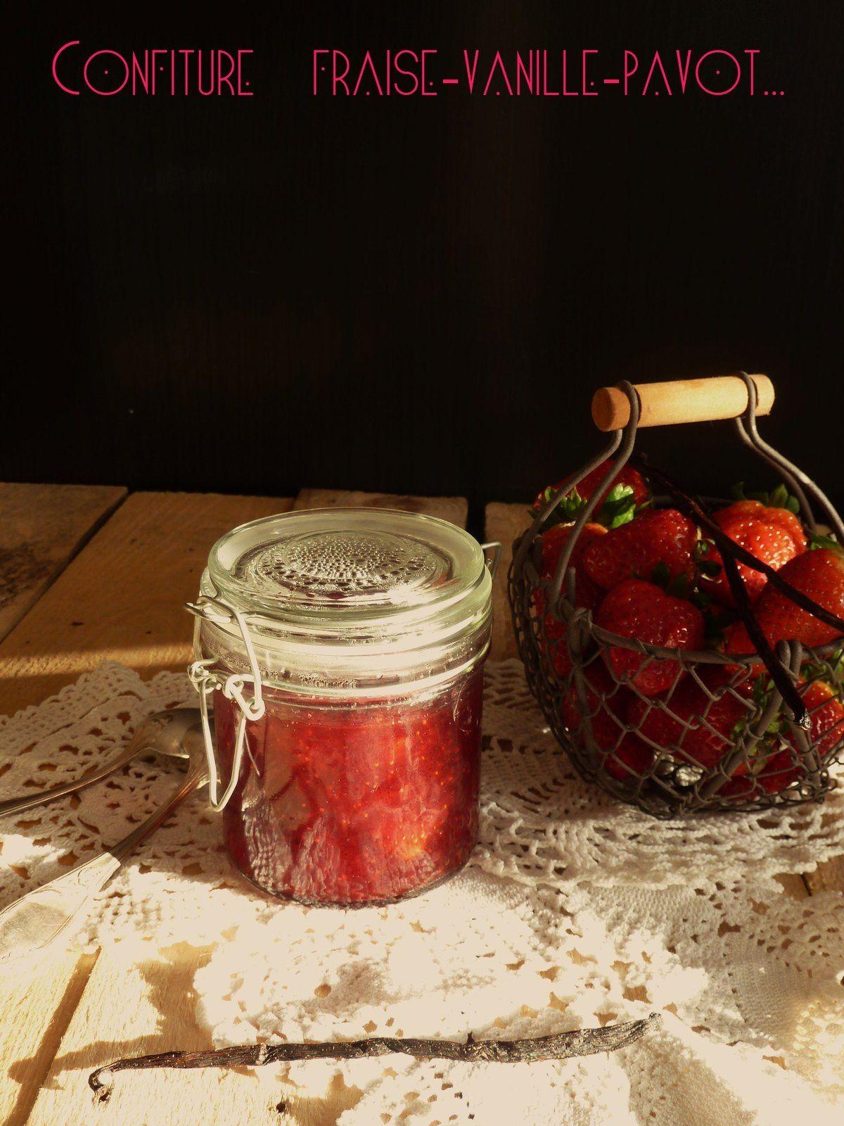 3 idées...de confiture de fraise