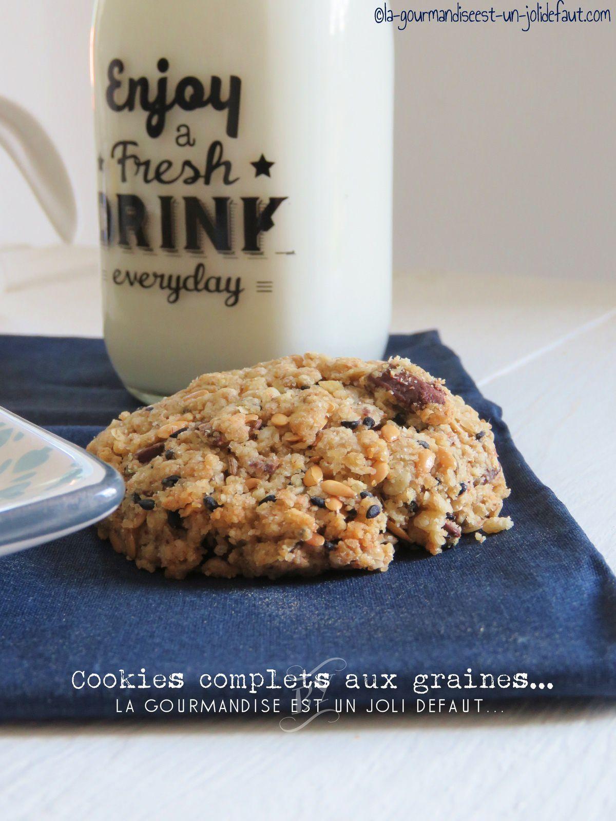 Cookies complets aux graines