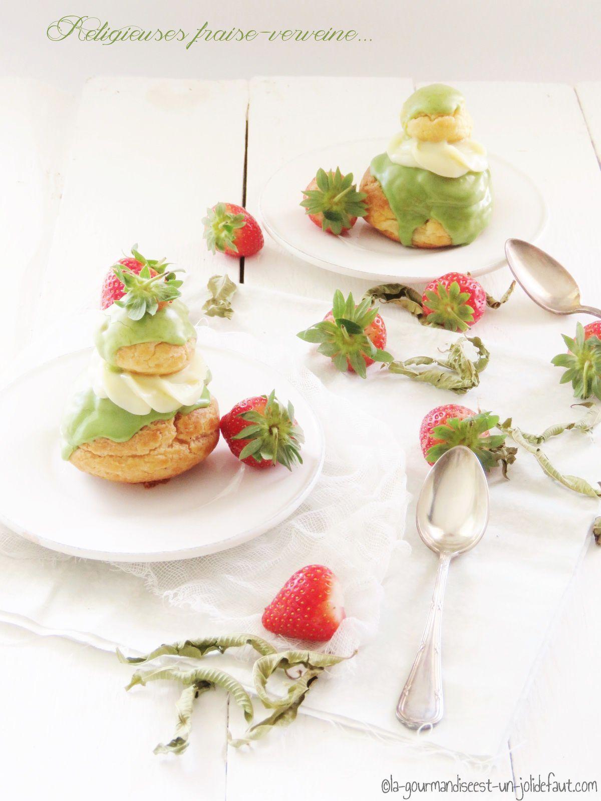 Religieuses fraise-verveine