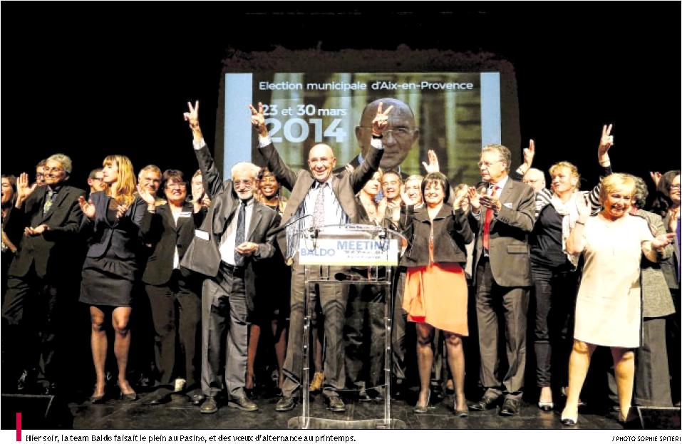 Dimanche, pour Aix, votez Édouard Baldo