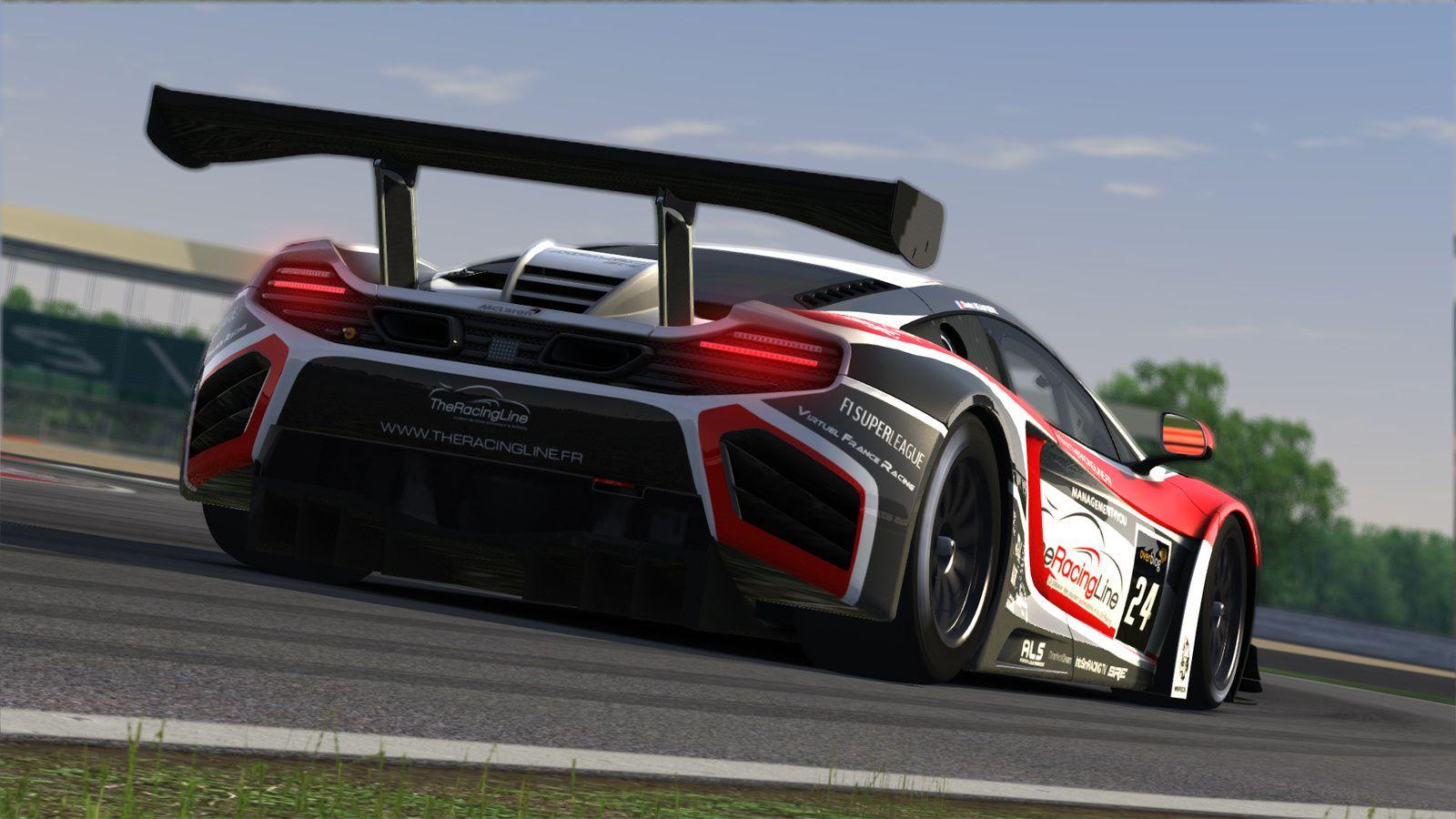 Assetto Corsa : une livrée The Racing Line !
