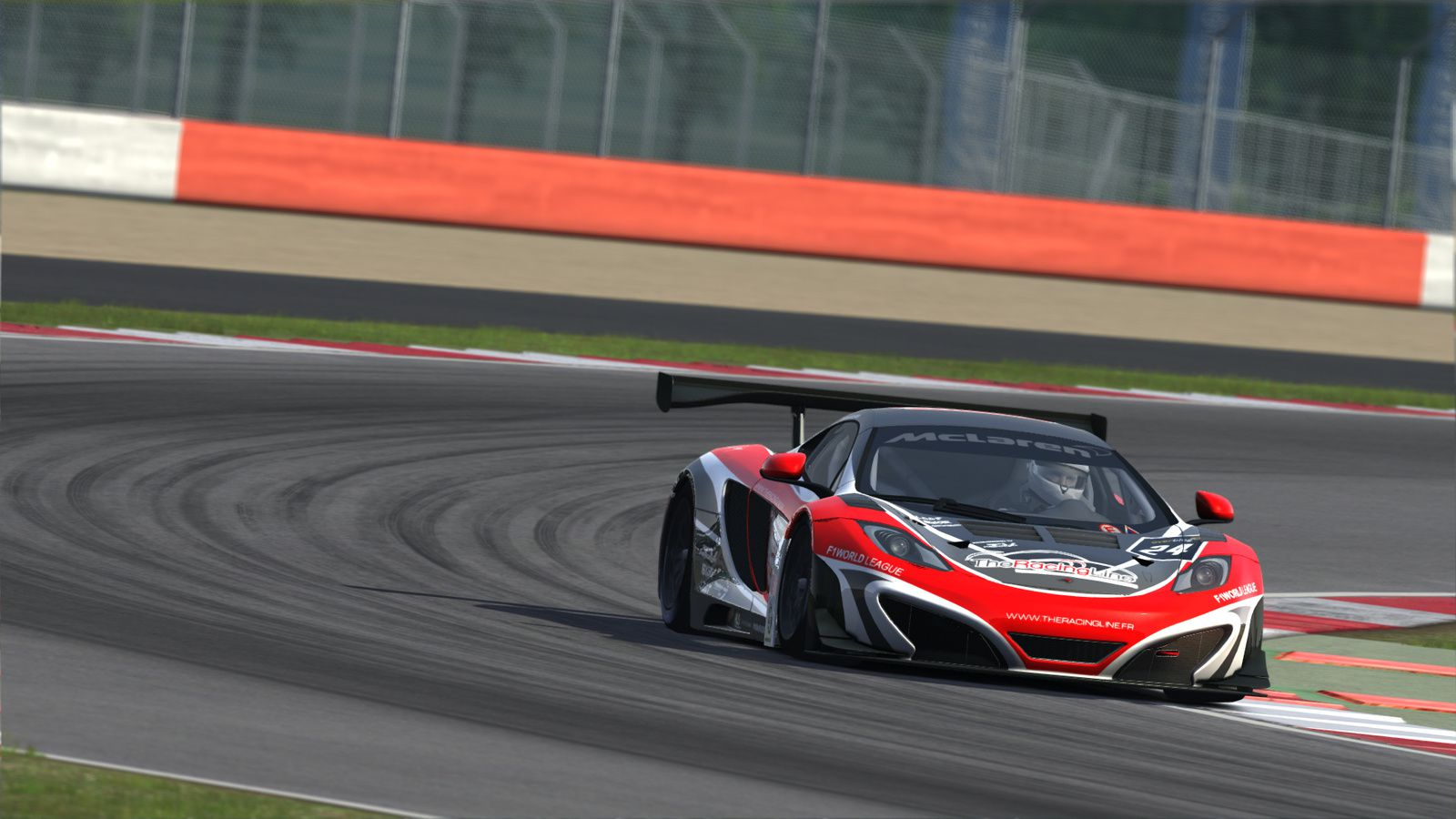 Assetto Corsa : une livrée The Racing Line !