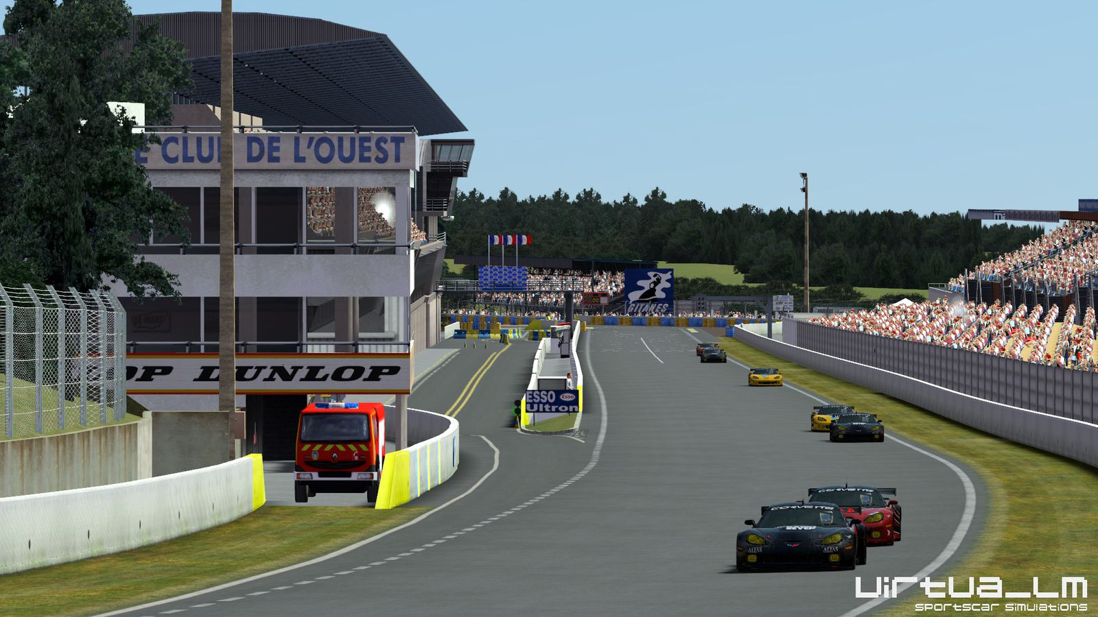 rFactor 2 circuit Le Mans 1991-1996 1 0 disponible ! - The Racing Line