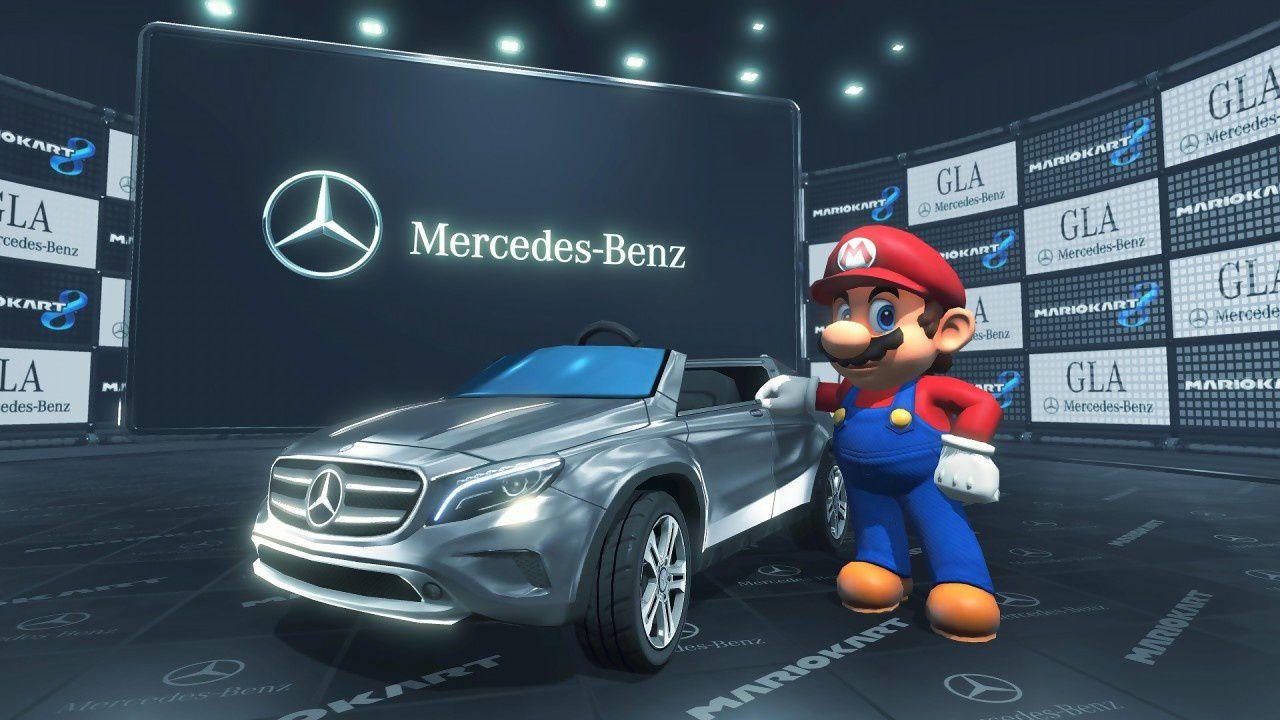 Mario Kart obtient la licence Mercedes !