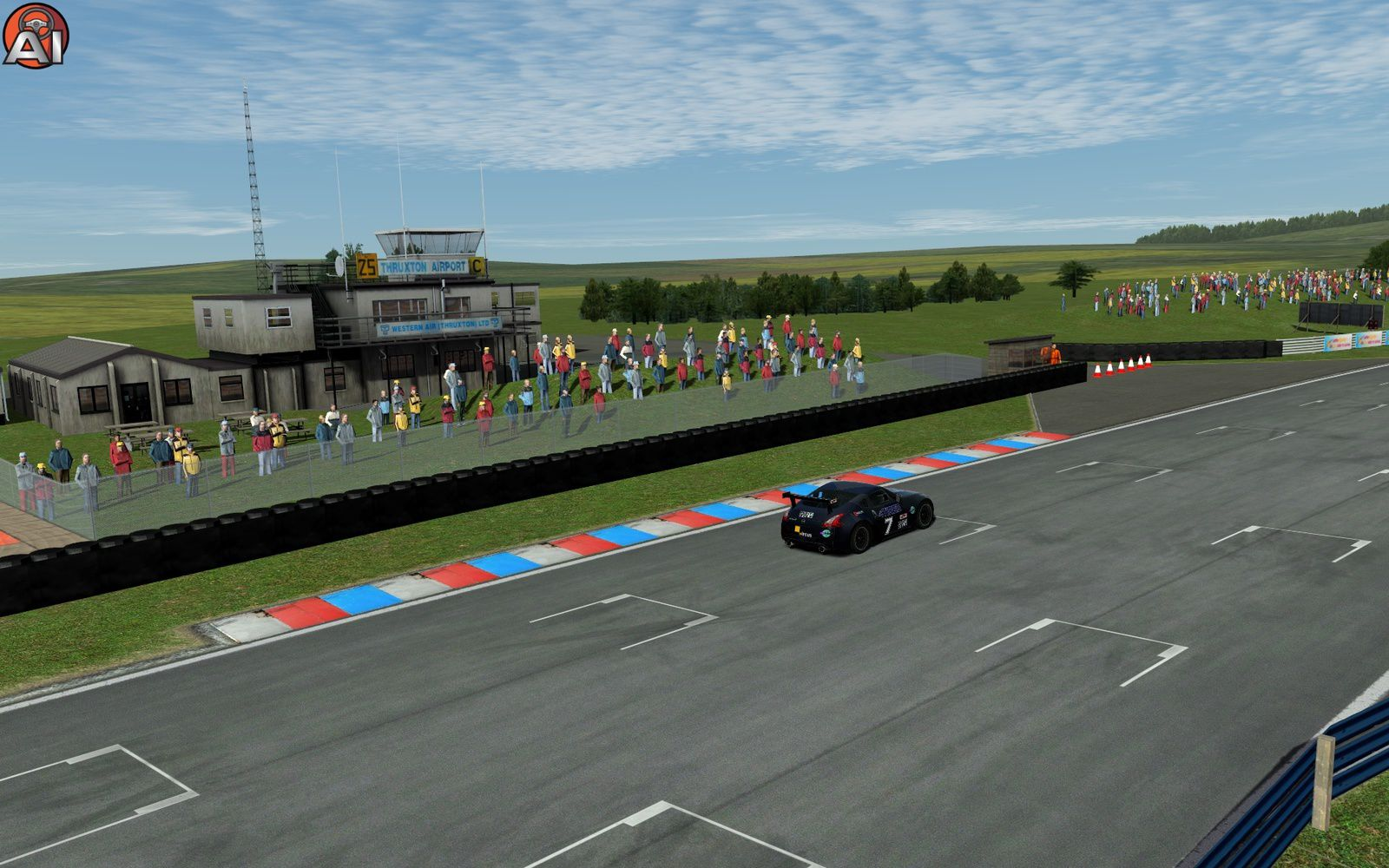rFactor 2 circuit Thruxton 0.6 disponible !