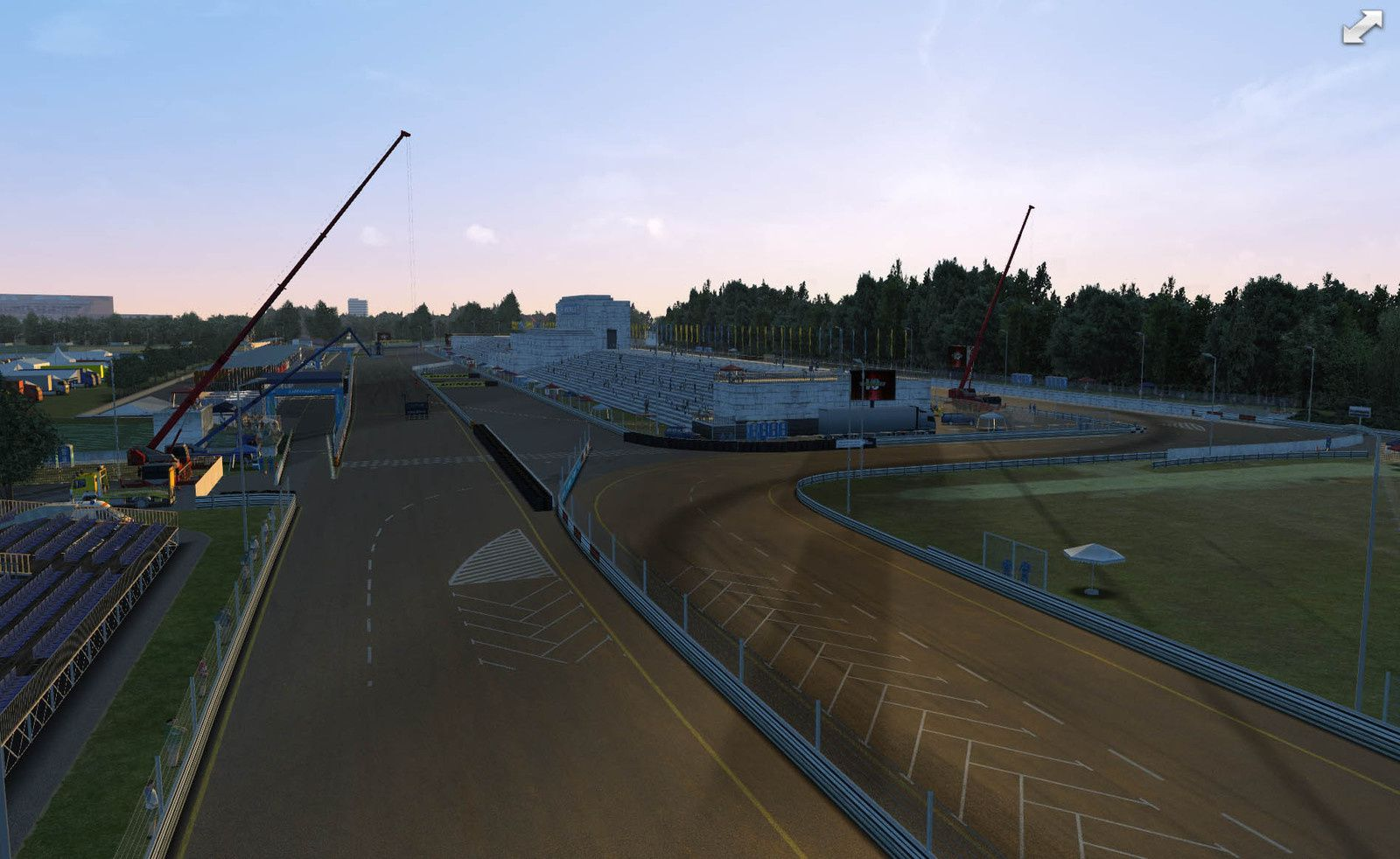 GSC Extreme circuit Norisring V2.0 disponible !