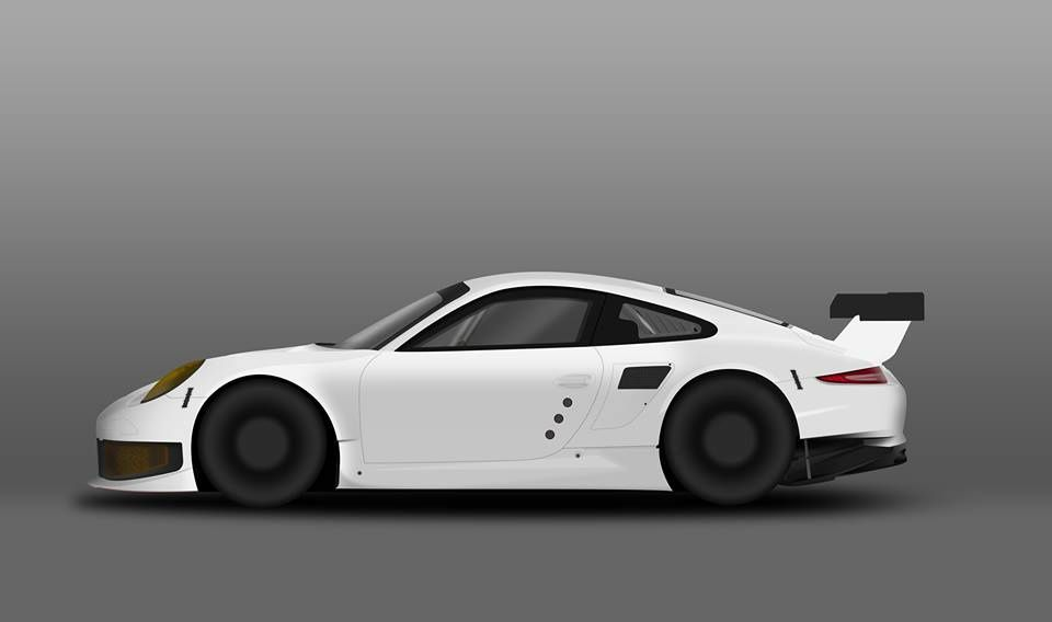 Reproduction Porsche 911 RSR