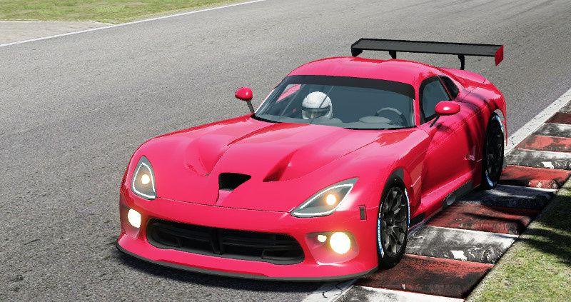 Assetto Corsa Mod Tudor Sports Car : Viper en préparation