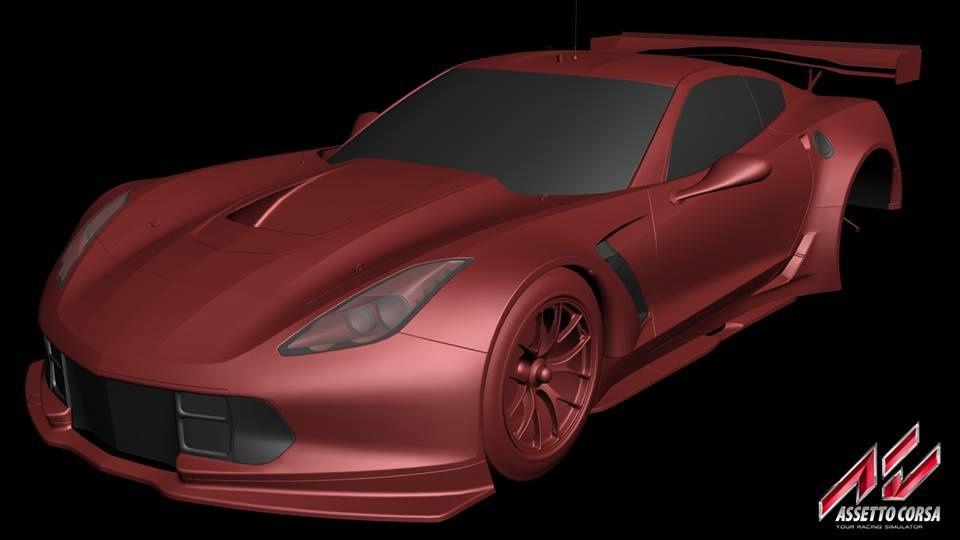 Assetto Corsa : Chevrolet Corvette C7.R en préparation