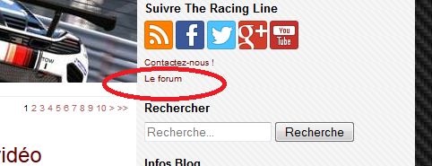 The Racing Line lance son forum en version Beta