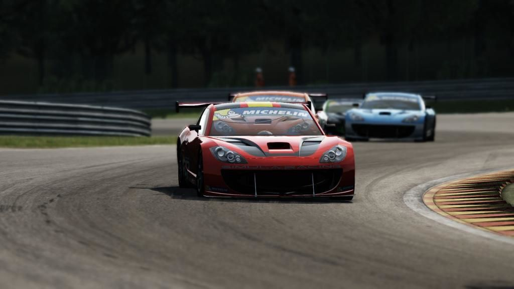 Assetto Corsa Mod Ginetta GT Supercup en préparation