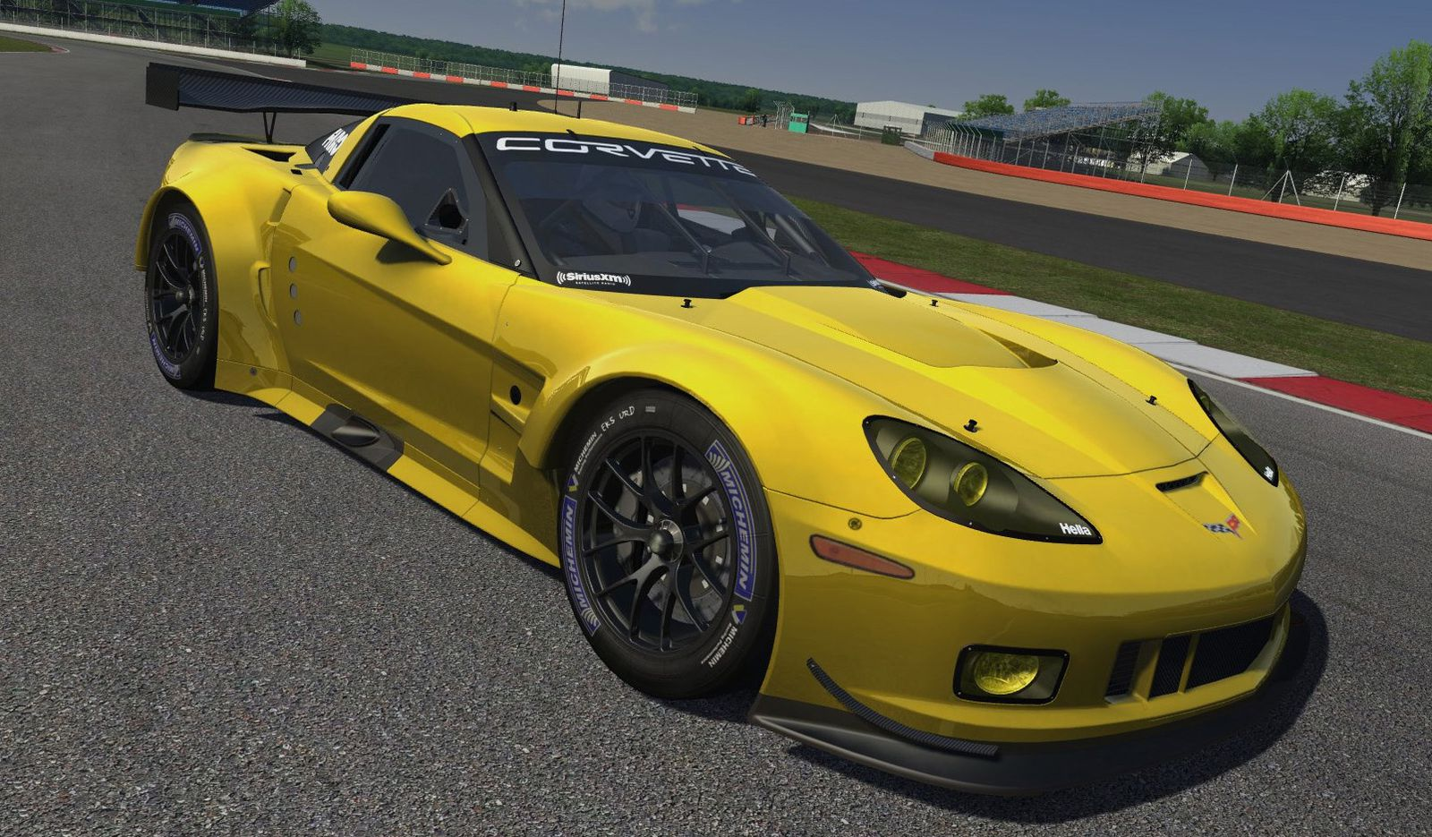Assetto Corsa Mod Corvette C6.R 0.9 disponible !