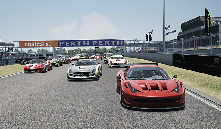 Assetto Corsa circuit Barbagallo Raceway 1.1 disponible !