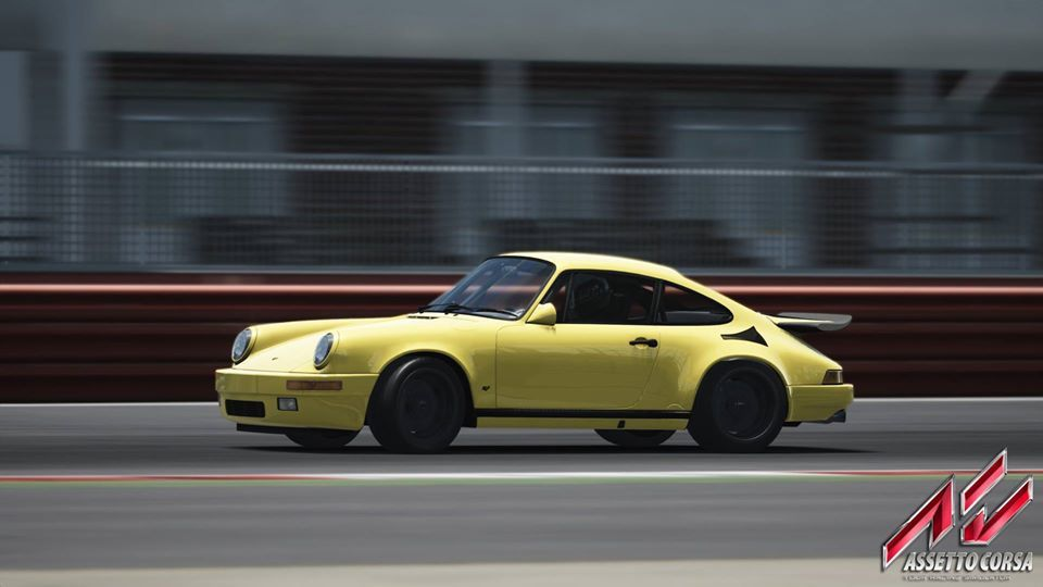 Assetto Corsa - The RUF is on Fire