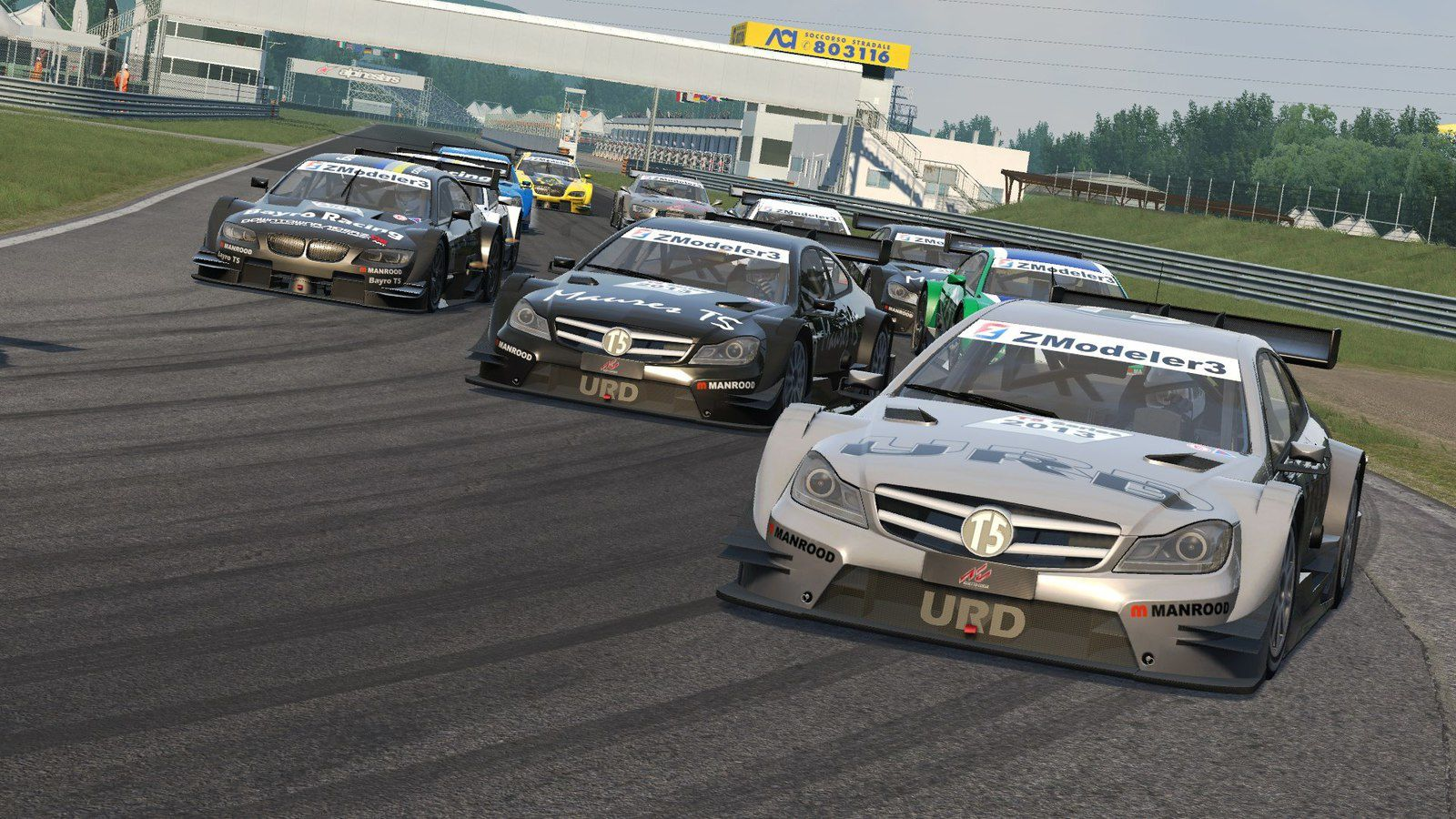 Assetto Corsa Mod T5 Touring Car Series 2013 disponible !