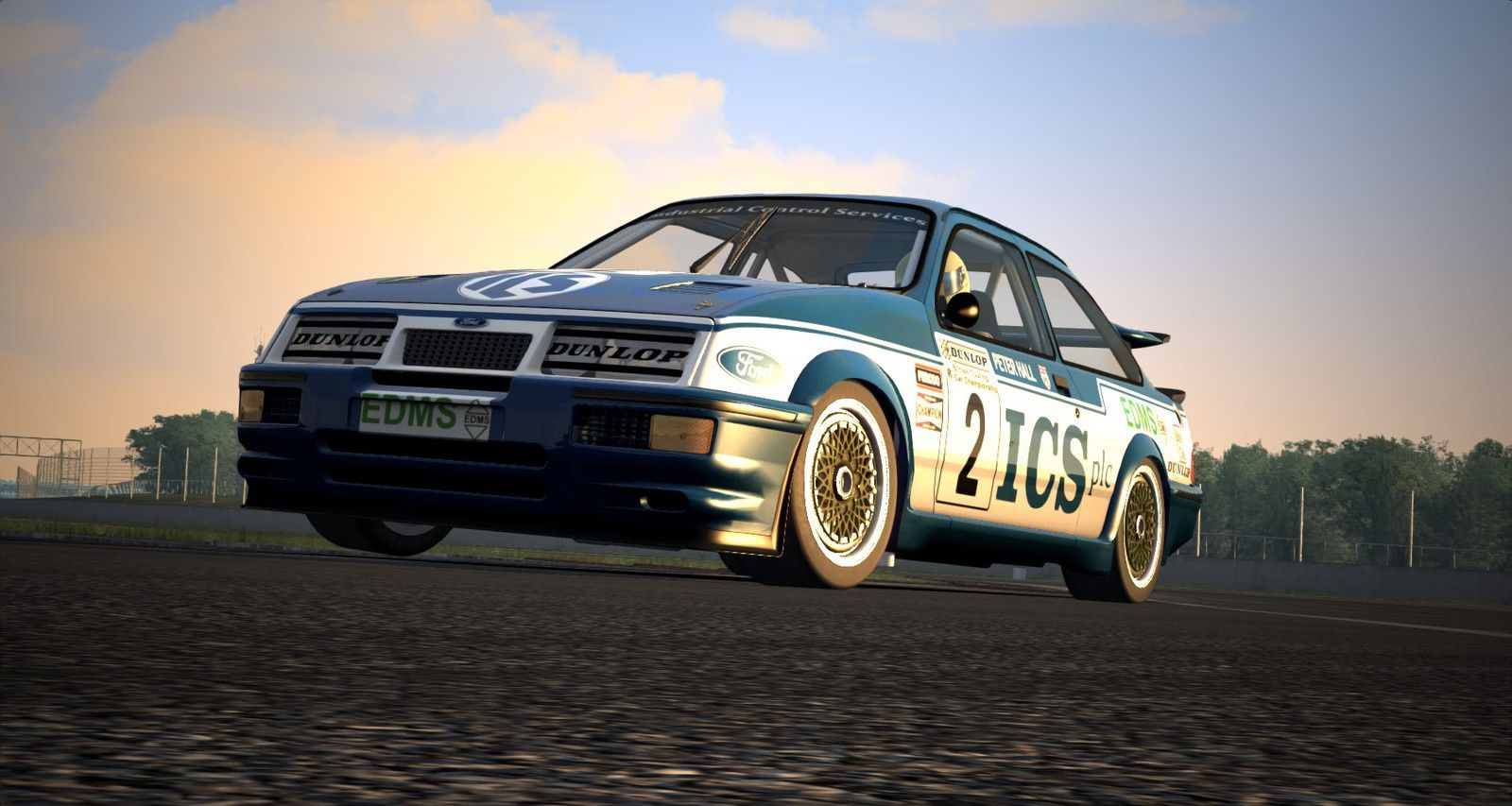 Assetto Corsa Mod 1987 Ford Sierra Cosworth RS500 0.81 disponible !