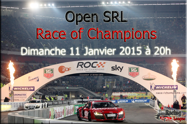 rFactor - Open Race Of Champion par la SimRacing League