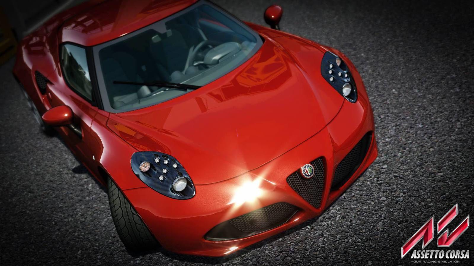 Assetto Corsa - Dream Pack - Alfa Romeo 4C
