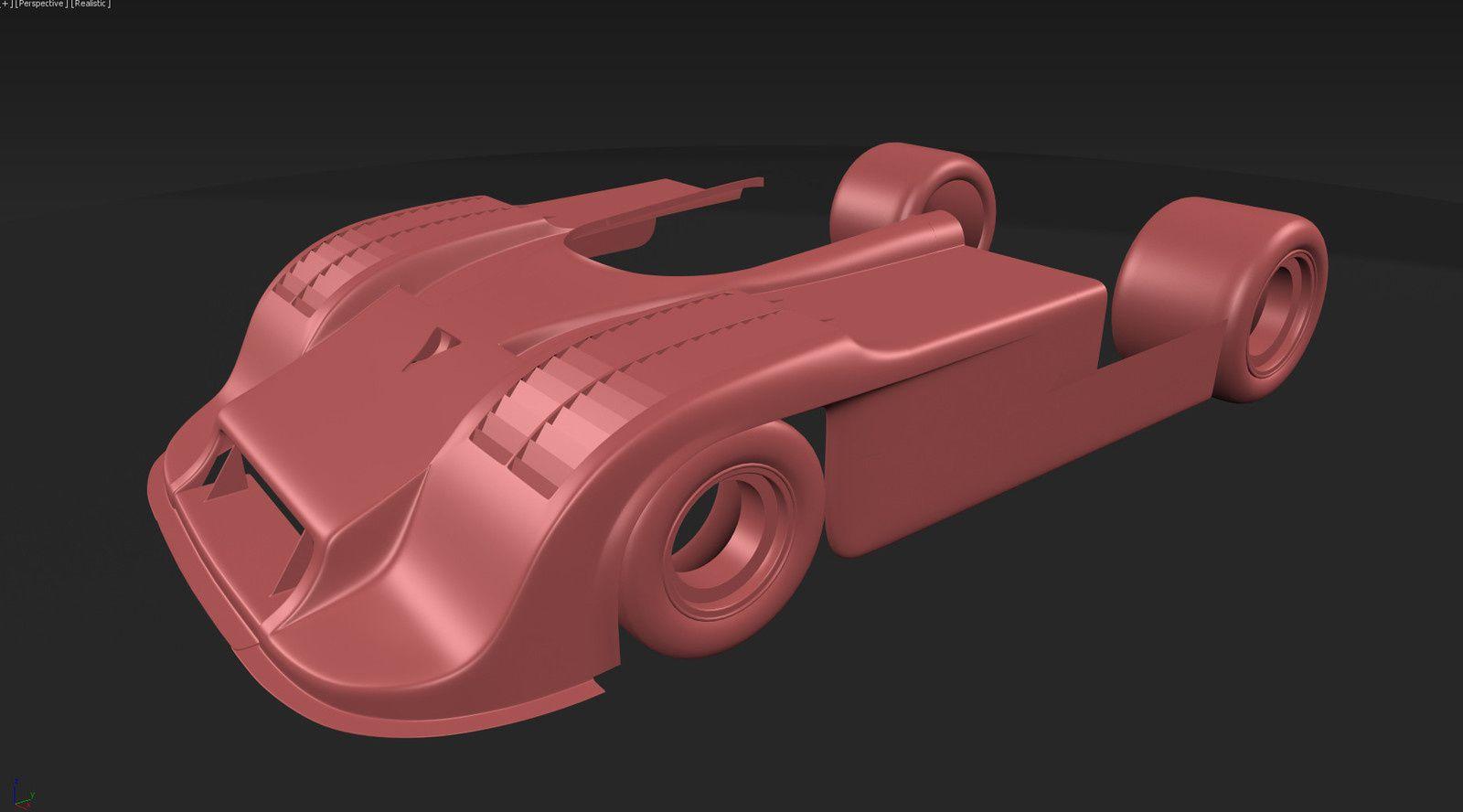 Assetto Corsa : Porsche 917/30 en préparation