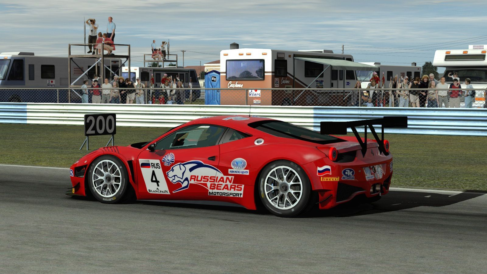 rFactor 2 Mod FIA GT3 0.91 disponible !
